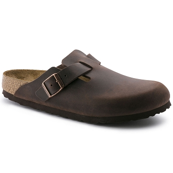 BIRKENSTOCK BOSTON<br>Marron