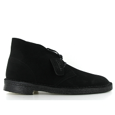 CLARKS ORIGINALS DESERT BOOT<br>Noir