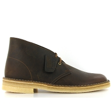 CLARKS ORIGINALS DESERT BOOT<br>Marron
