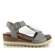 Chaussures à lacets Remonte grises Casual femme Prix Incroyables Pas Cher En Ligne Sortie D'usine Pas Cher InxyU