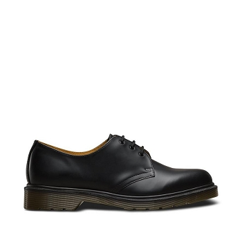 DOC MARTENS 1461 PW BLACK SMOOTH<br>Noir