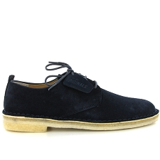 CLARKS ORIGINALS DESERT LONDON<br>Bleu