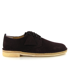 CLARKS ORIGINALS DESERT LONDON<br>Bordeaux
