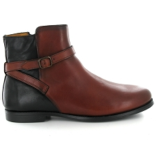 SEBAGO PLAZA ANKLE BOOT<br>Marron