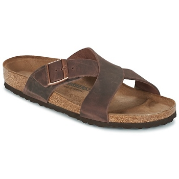 BIRKENSTOCK TUNIS<br>Marron