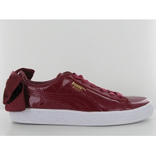 PUMA BASKET BOW PATENT<br>Bordeaux