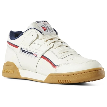 REEBOK WORKOUT PLUS MU DV4293<br>Blanc