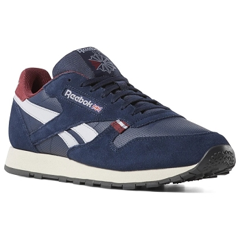 REEBOK CL LEATHER MU NAVY CN7178<br>Bleu