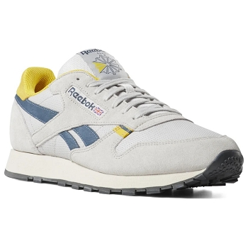 REEBOK CL LEATHER MU STEEL CN7177<br>Gris