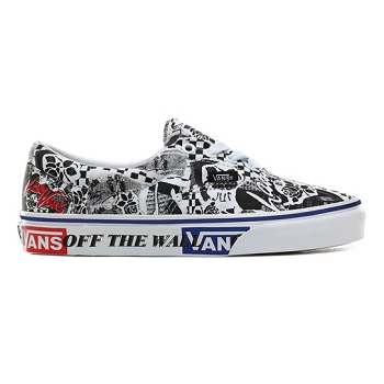 VANS ERA WHITE<br>Noir