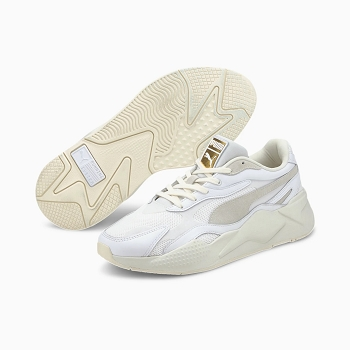 PUMA RSX3 LUXE 374293<br>Blanc