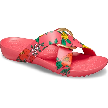 CROCS SERENA CROSS<br>Rose
