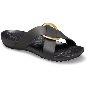 CROCS SERENA CROSS<br>Noir