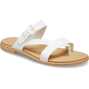 CROCS TULUM TOE POST<br>Blanc