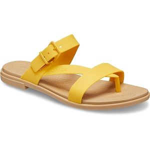 CROCS TULUM TOE POST<br>Jaune