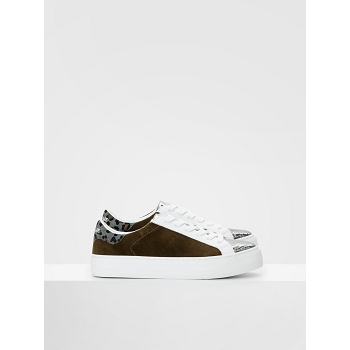 NO NAME ARCADE SNEAKER<br>Marron