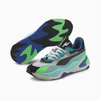 PUMA RS2K IE.BLACK 373309 01<br>Bleu