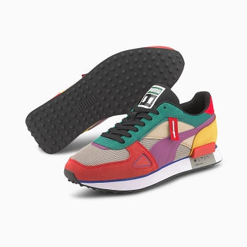 PUMA FUTURE RIDER HUNDREDS 373726<br>Vert