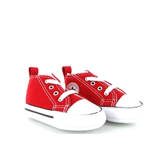 CONVERSE FIRST STAR CVS TOILE<br>Rouge