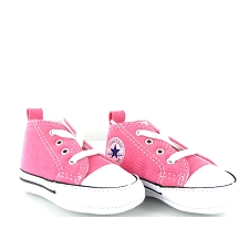 CONVERSE FIRST STAR CVS TOILE<br>Rose