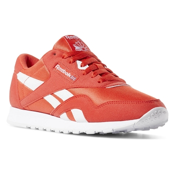 REEBOK CL NYLON COLOR CN7446<br>Rouge