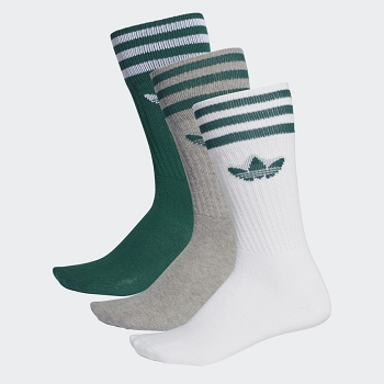 ADIDAS TEXTILE SOLID CREW SOCK DY0384<br>Vert
