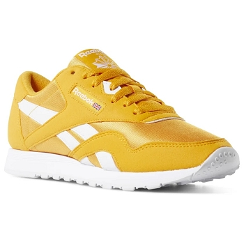 REEBOK CL NYLON COLOR CN7450<br>Jaune