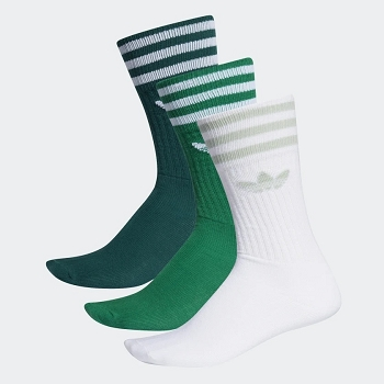 ADIDAS TEXTILE SOLID CREW SOCK ED9362<br>Vert