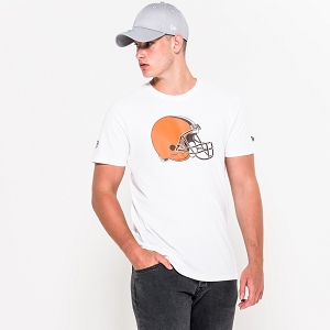 NEW ERA TSHIRT CLEVELAND BROWNS<br>Blanc