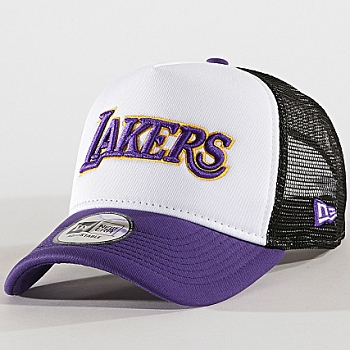 NEW ERA TEAM TRUCKER LAKERS 11901825<br>Violet