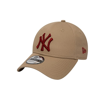 NEW ERA LEAGUE ESSENTIAL NEW YORK<br>Beige