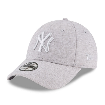 NEW ERA ESSENTIAL JERSEY NEW YORK<br>Gris