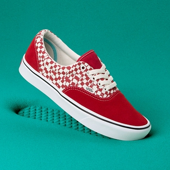 VANS COMFYCUSH ERA TEAR CHECK<br>Rouge