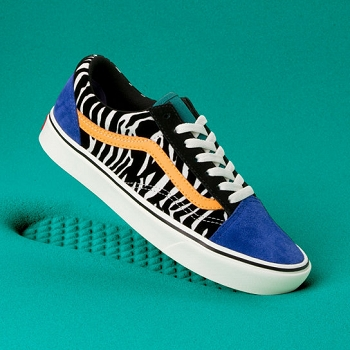 VANS UA COMFYCUSH OLD SKOOL ZEBRA<br>Multicolore