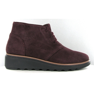 CLARKS SHARON HOP<br>Bordeaux