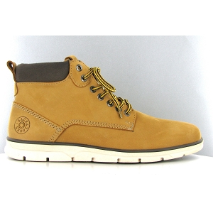 JACK JONES TUBAR LEATHER BRANDY STS<br>Jaune