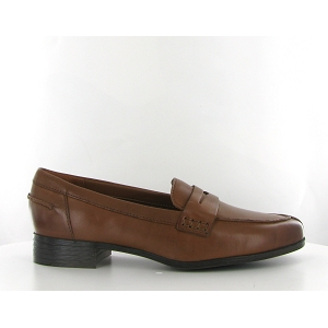 CLARKS HAMBLE LOAFER<br>Marron