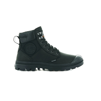 PALLADIUM PAMPA SHIELD WATERPROOF LEATHER<br>Noir