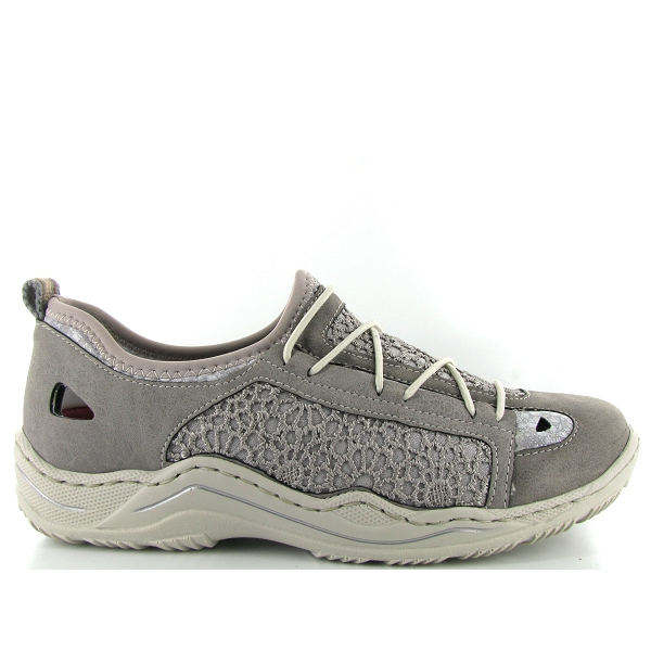 Chaussures à lacets Rieker bleues Casual homme yfX37FCcr
