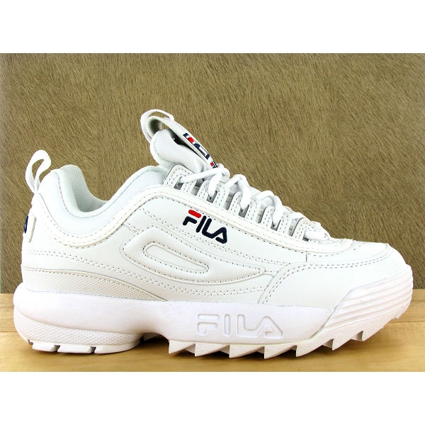 fila disruptor low wmn blanc. Black Bedroom Furniture Sets. Home Design Ideas