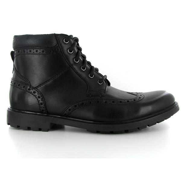 54051e5044e2 Clarks boots curington rise noir